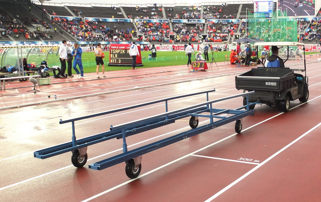 Hurdle Cart Backloaded 40 Hurdles - Nordic Sport