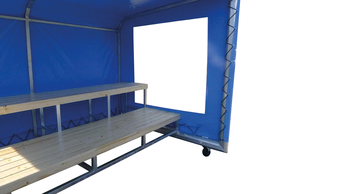 Player Booth Plus 3m