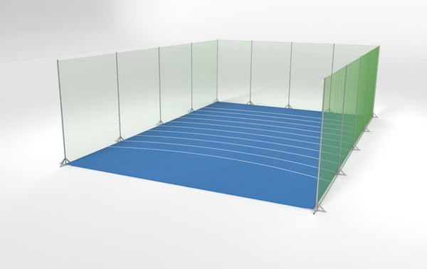 Shot Put Mat Double
