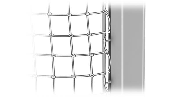 Steel Net Anchoring - Nordic Sport