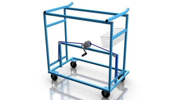 Cart Ice Hockey Cage