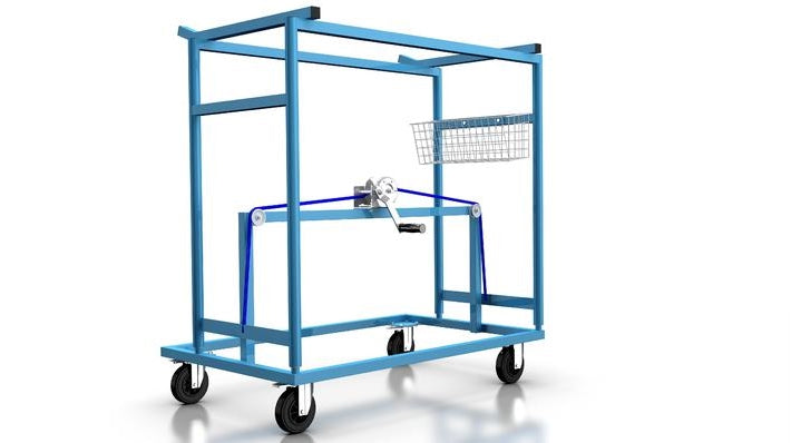 Cart Ice Hockey Cage - Nordic Sport
