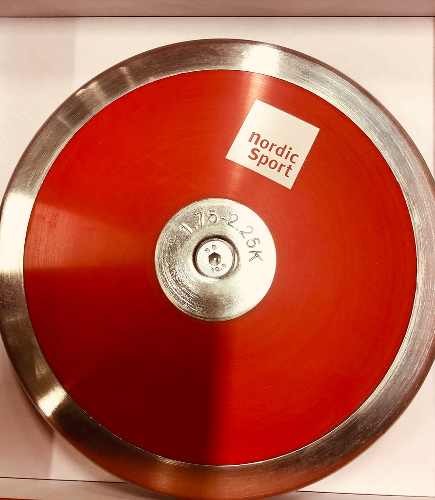 Adjustable Discus 1,75-2,25kg - Nordic Sport