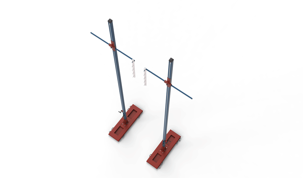 Crossbar extension for Pole Vault stands - Nordic Sport