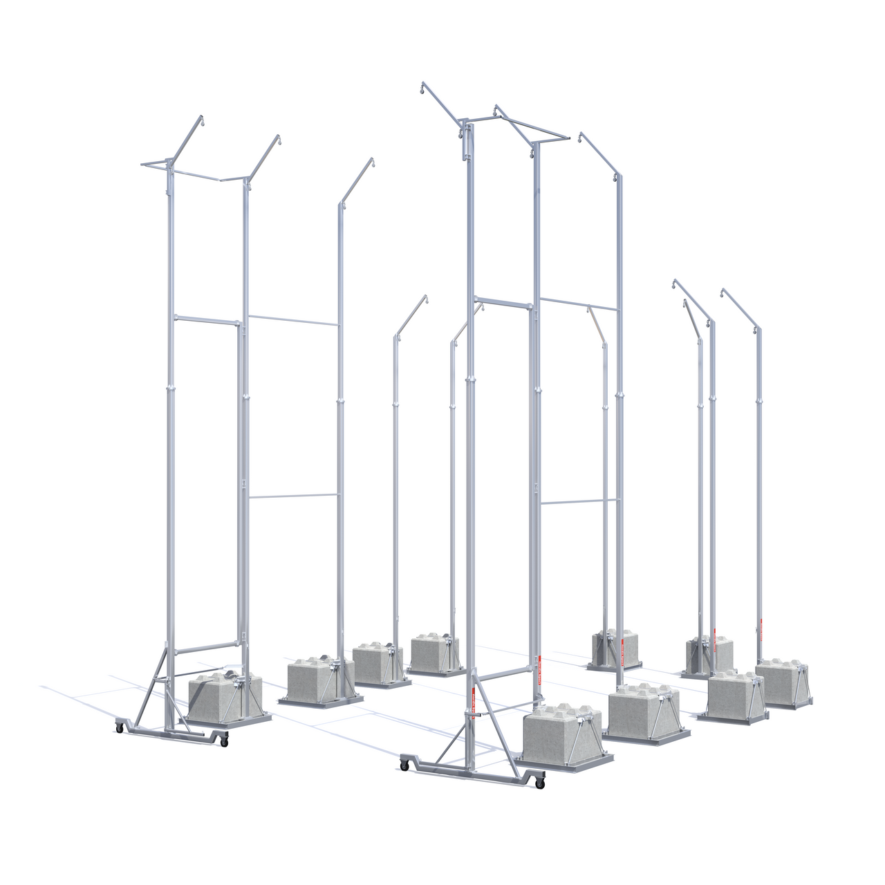Mobile Hammer Cage Steel