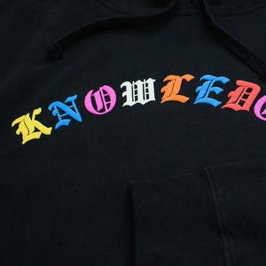 "<img src=""http://brianwoodonline.com/loveu.jpg""><br><i> KNOWLEDGE Hoody</i>"