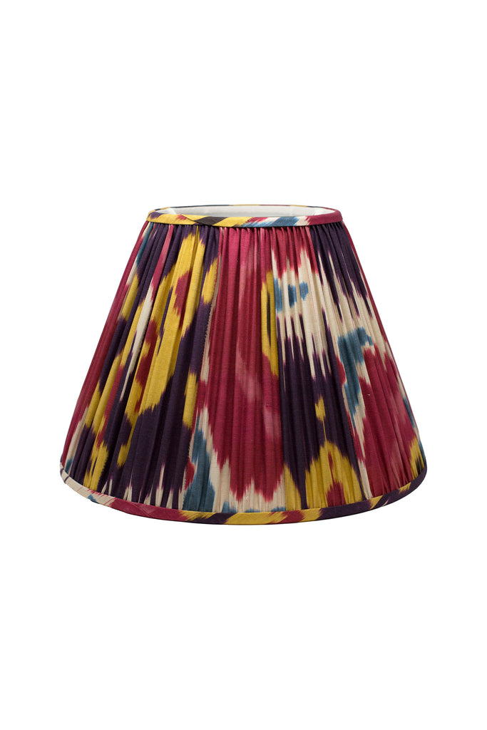 Custom Ikat Lamp Shade