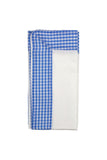Light Blue Colored Gingham Dinner Napkin