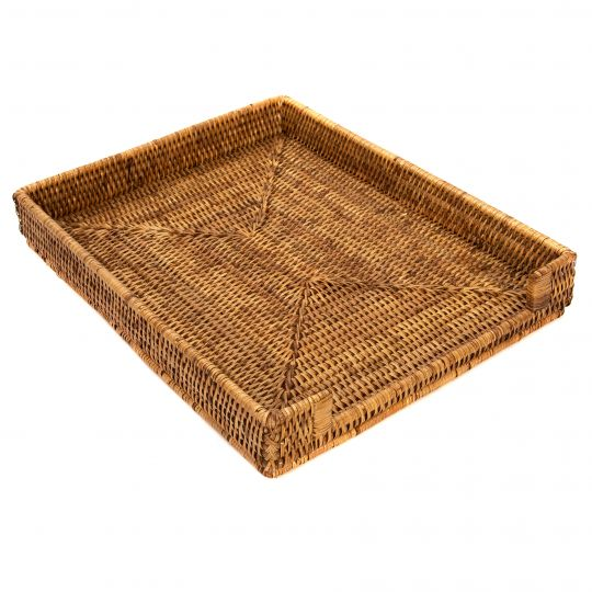 Handwoven Paper Tray Basket