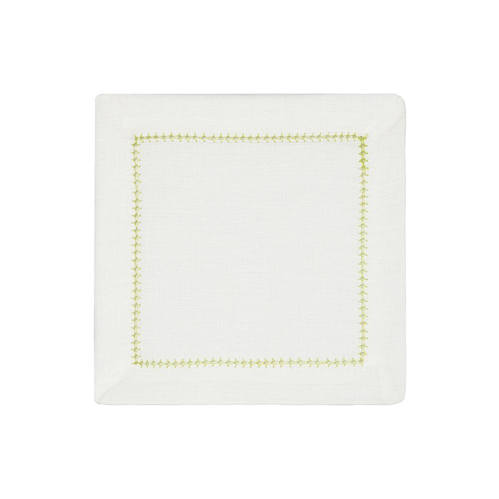 Dolce Vita Cocktail Napkins, Set of 4, Lime