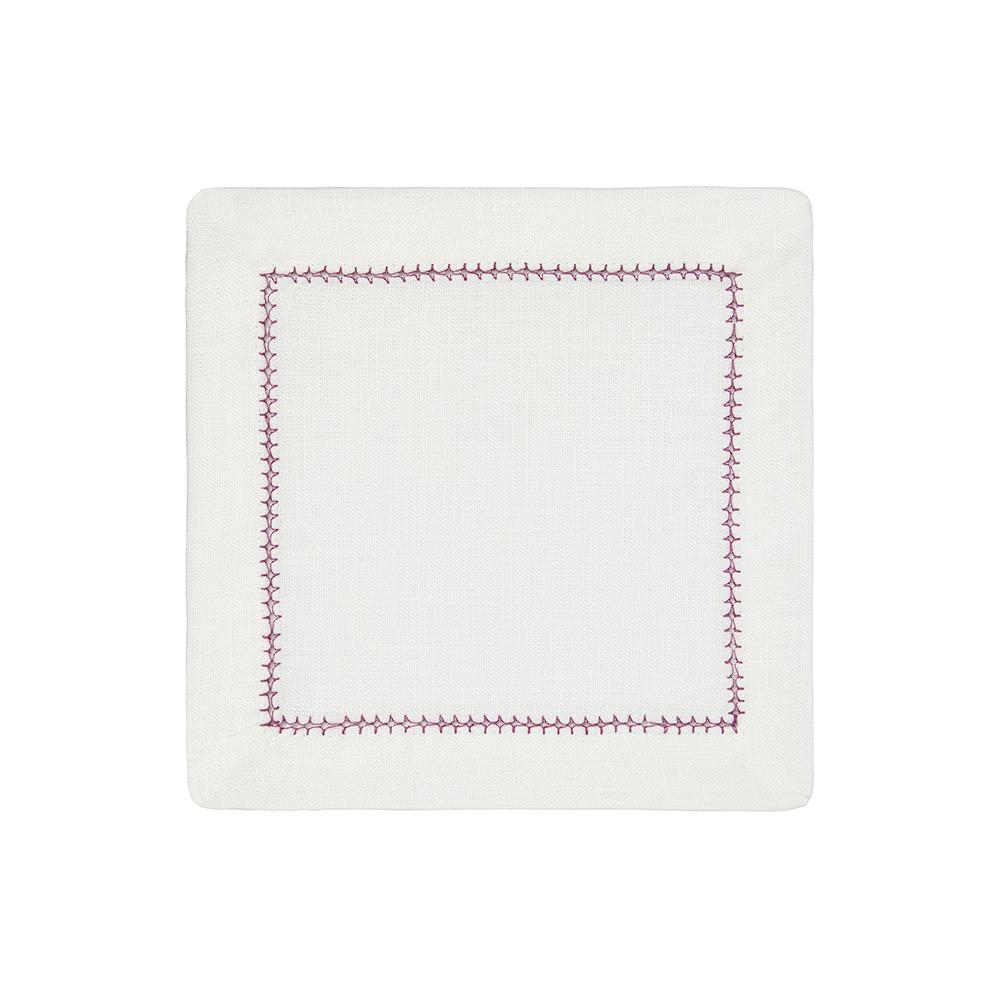 Dolce Vita Cocktail Napkins, Set of 4, Lavender