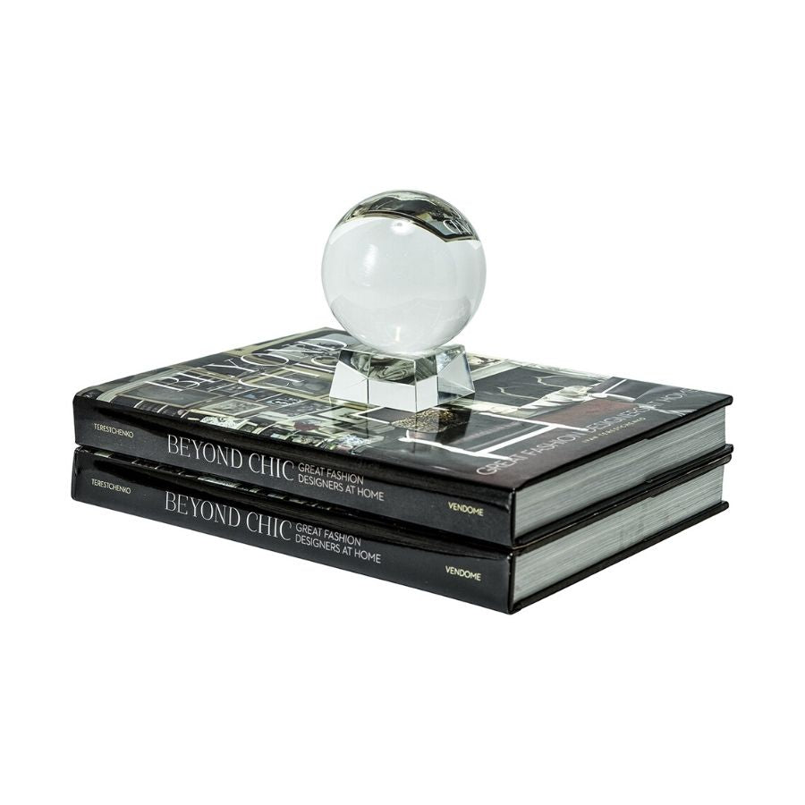 Fengshu Crystal Ball with Crystal Stand