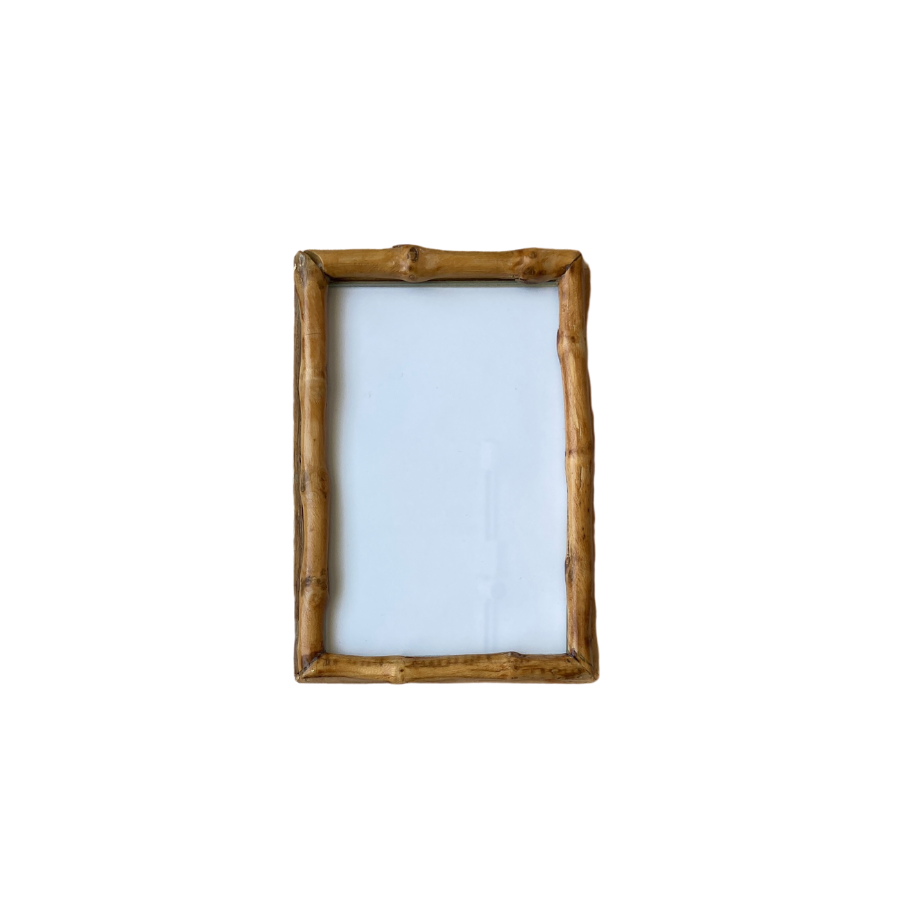 Bamboo Knot Picture Frame, 4x6