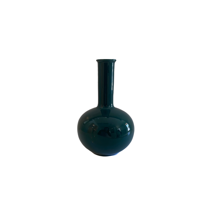 Mini Bud Vase, Racing Green