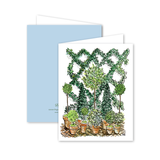 Emerald Trellis Card