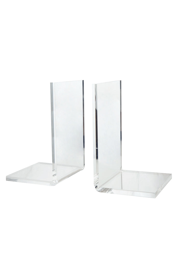 Acrylic Bookends, Set of 2