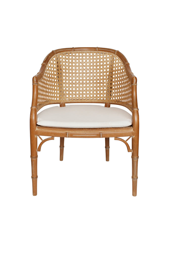 Mid Century French Bamboo Chair