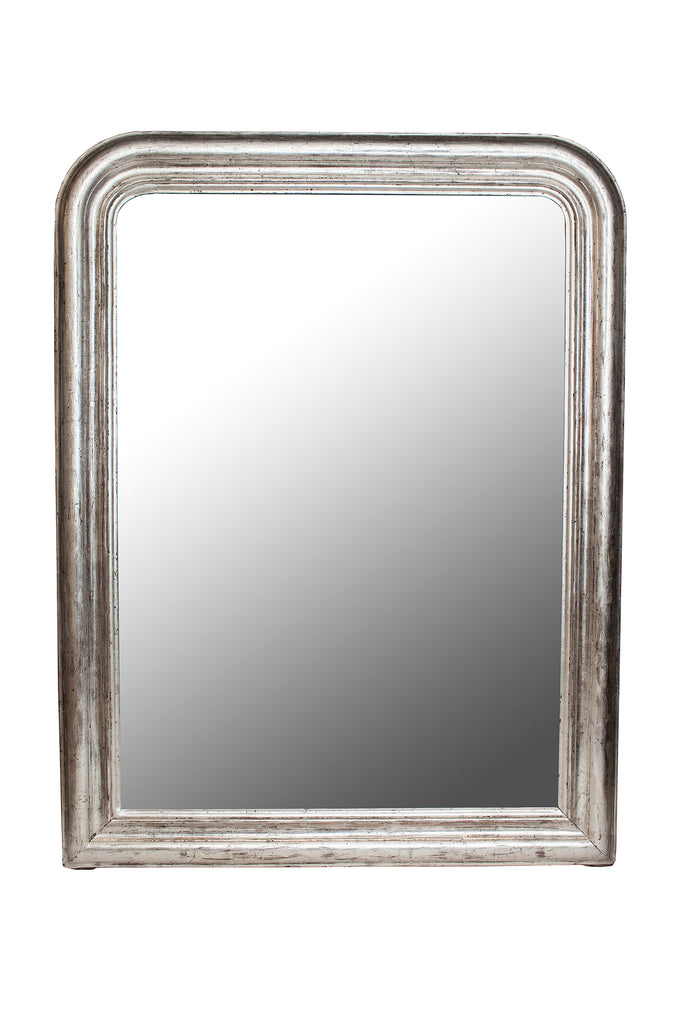 19th Century Louis Philipe Mirror with silver gilding