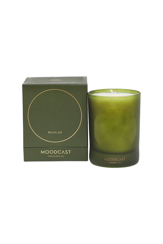 Reveler Scented Holiday Candle by Moodcast