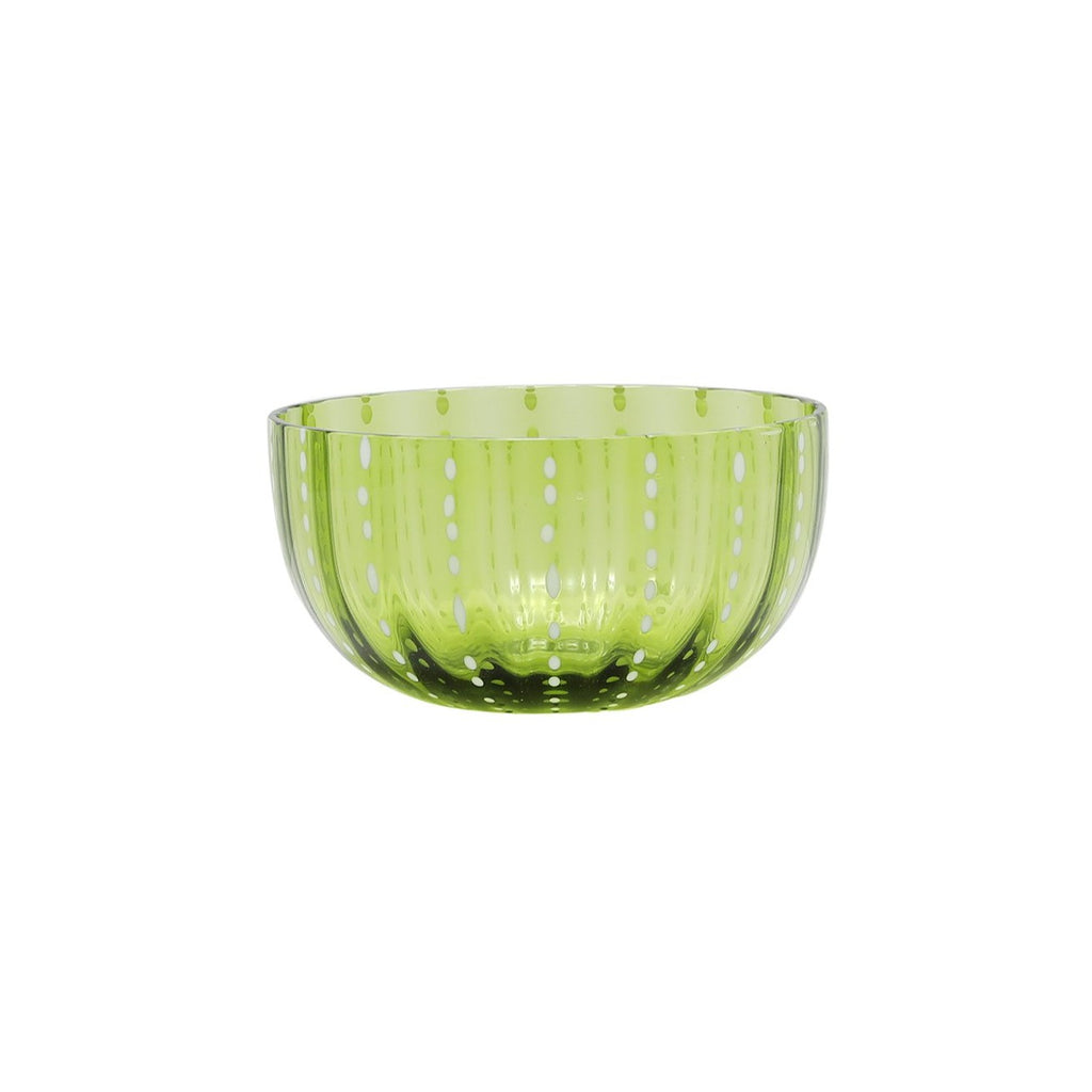 Small Italian Bowl in Apple Green