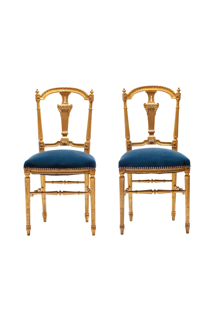 19th c. French Giltwood Chair