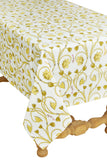 Lotus Table Cloth, Yellow 60x90