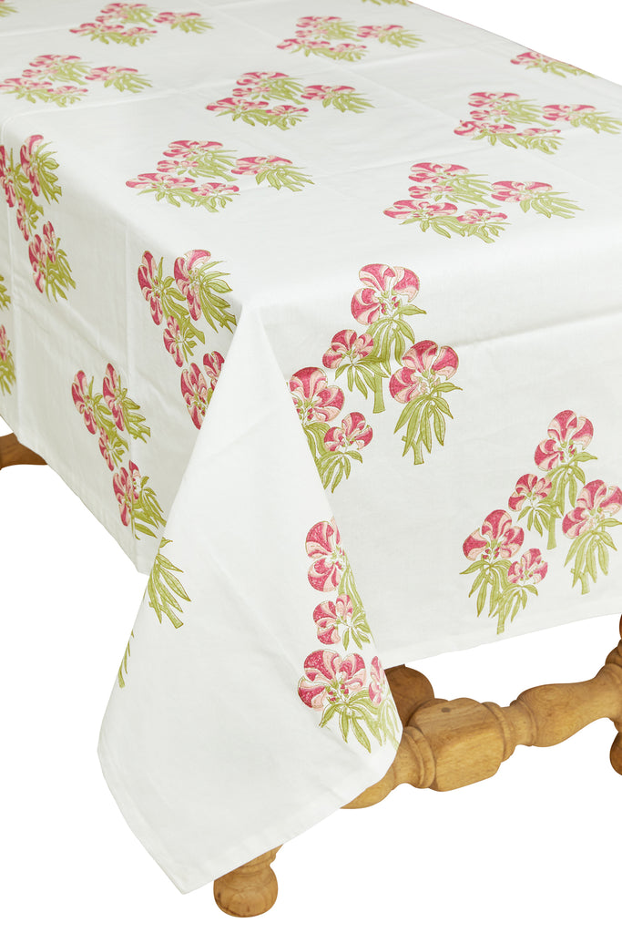 Jackfruit Table Cloth, Pink 60x60