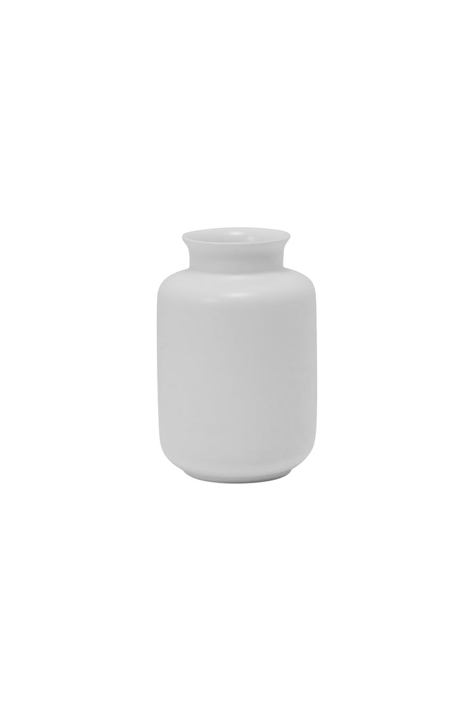 Milk Jar Mini Bud Vase, White