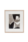 Mid-Century Abstract Black & White Art by Jacques Nestlé