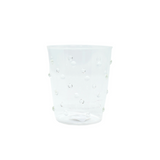 Clear Dotted Cocktail Glass