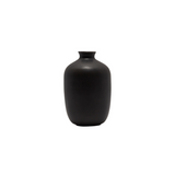 Plum-Shaped Mini Bud Vase, Black