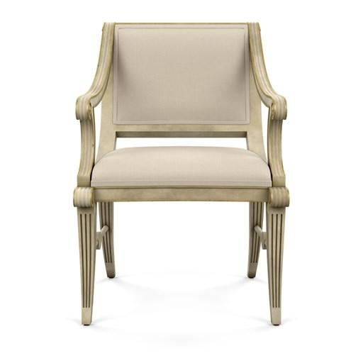 Bunny Williams Home Star Chair, Natural Linen