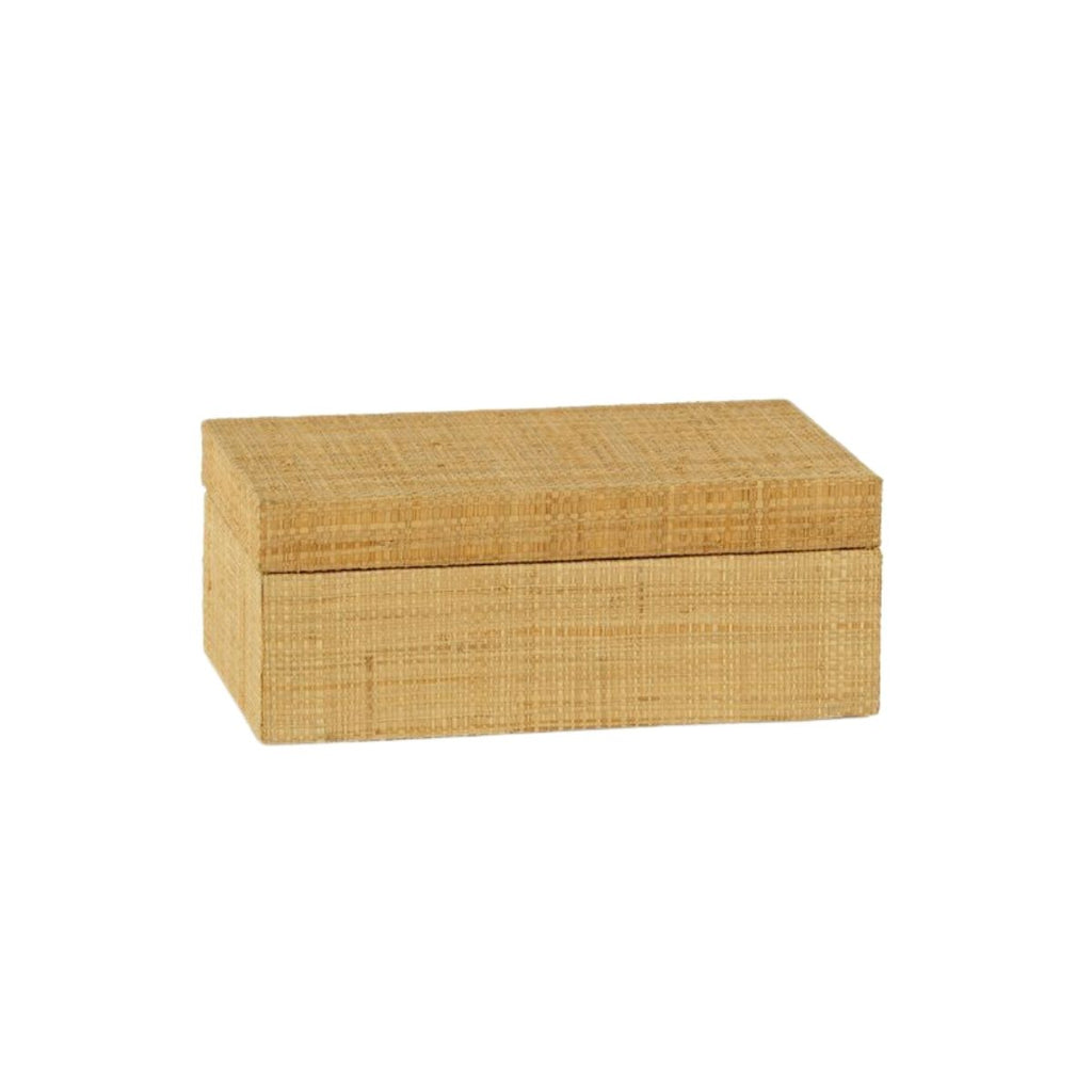 Grasscloth Box, Small