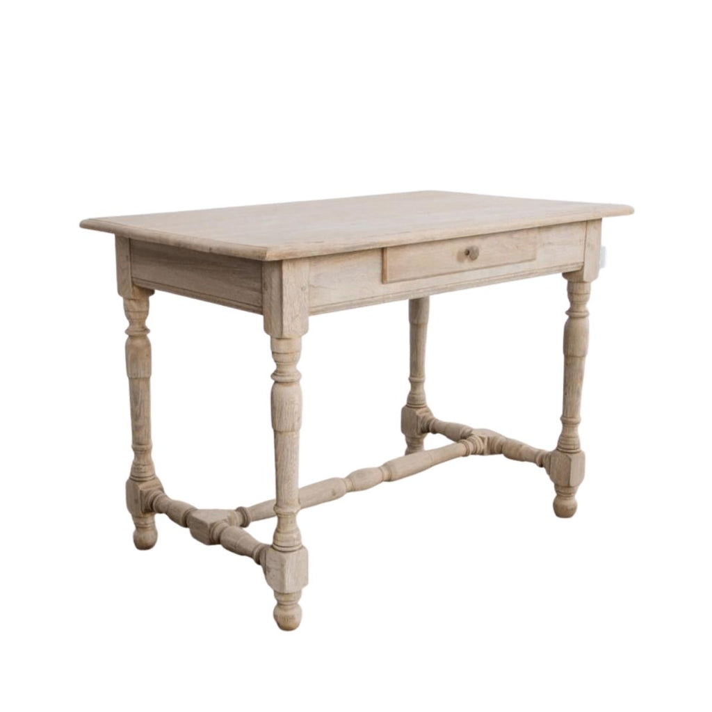 French Bleached Oak Table