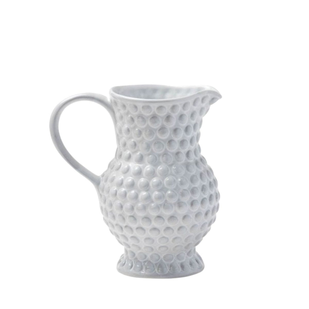 White Earthenware Pitcher