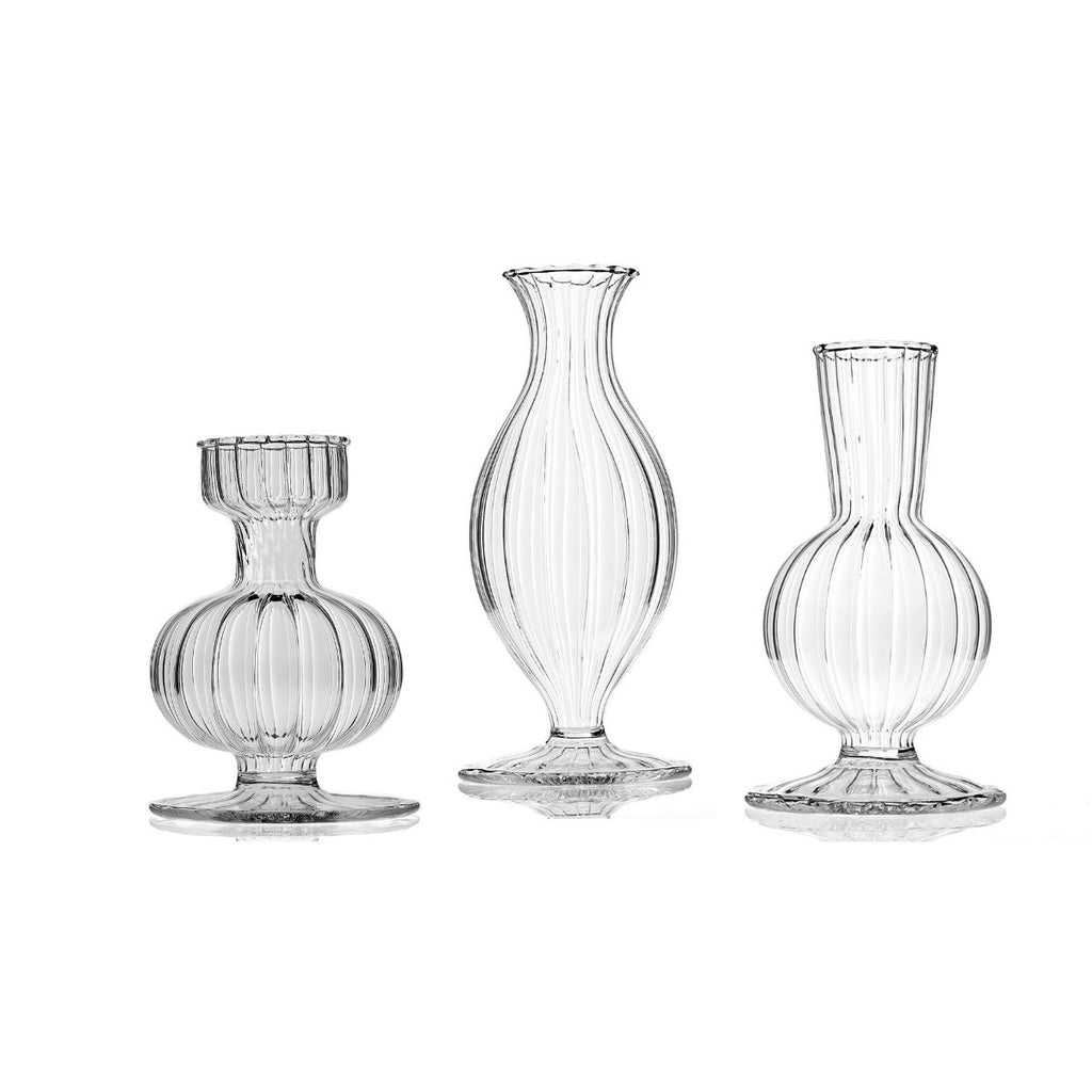 Small Boutique Vases, Set of 3