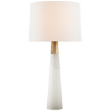 Alabaster Column Table Lamp
