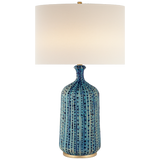 Pebbled Aquamarine Table Lamp