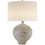 Ceramic White Base Table Lamp