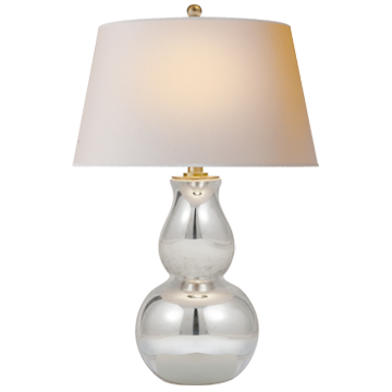 Open Bottom Gourd Table Lamp