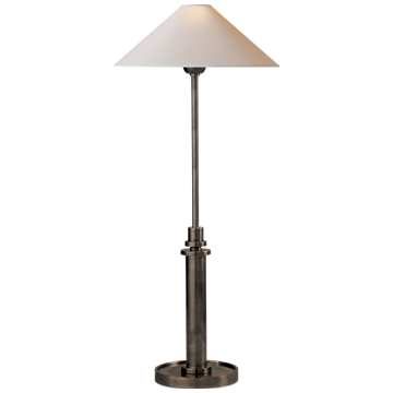 Bronze Finish Buffet Lamp