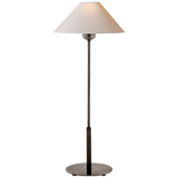 Bronze Finish Slim Neck Table Lamp