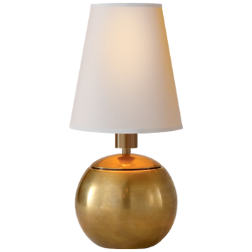 Short Ball Gold Table Lamp