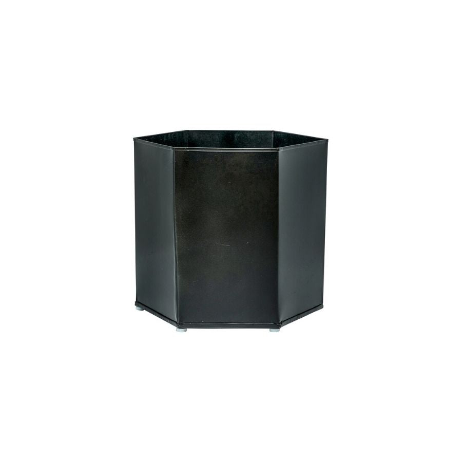 Metal Hexagonal Pot, Large