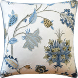Bakers Idienne Pillow, Soft Blue, Pair