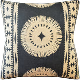Bora Bora Pillow, Black Lava, Pair