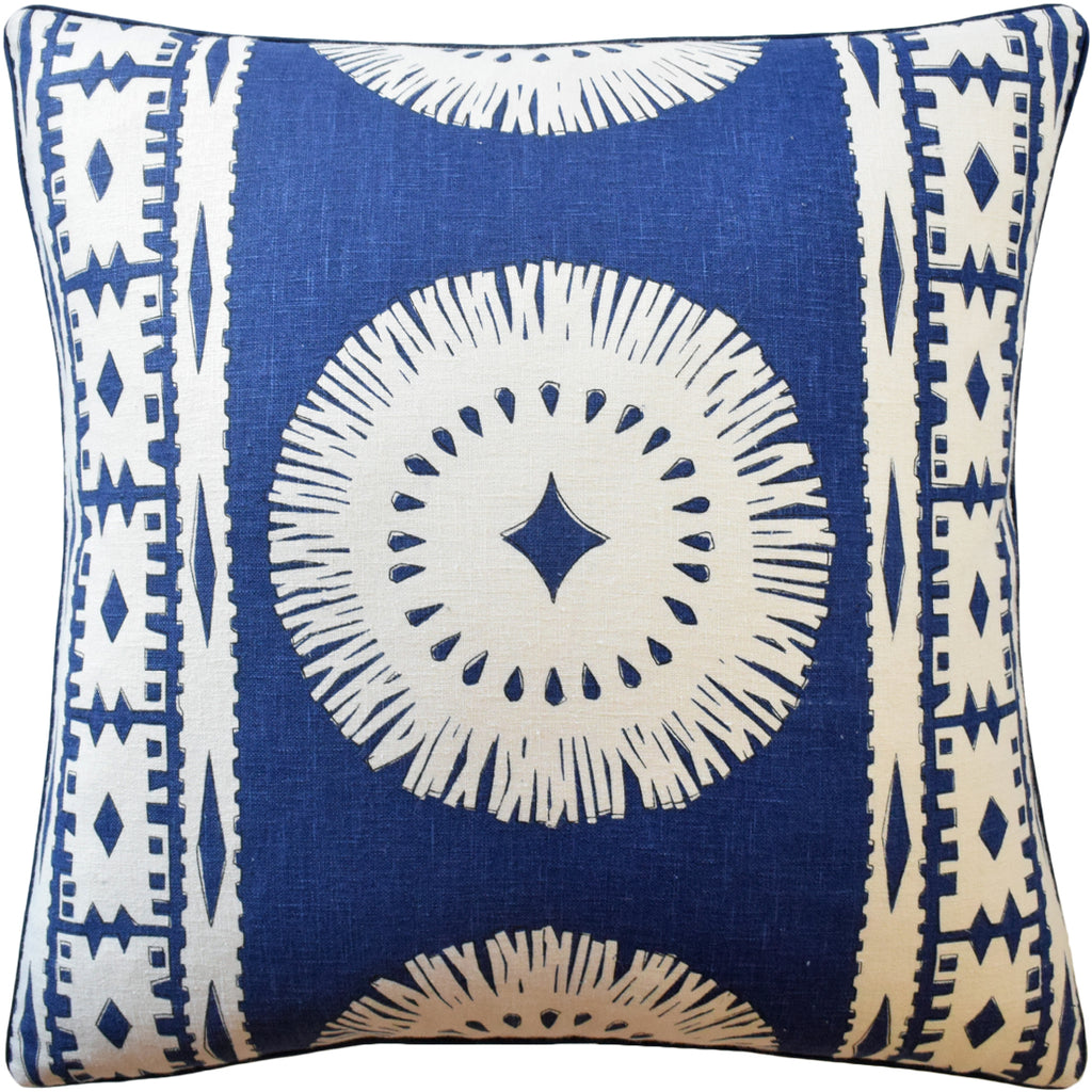 Bora Bora Pillow, Marine, Pair