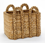 Large Rectangular Rush Basket