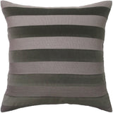 Parker Stripe Pillow, Flint, Pair