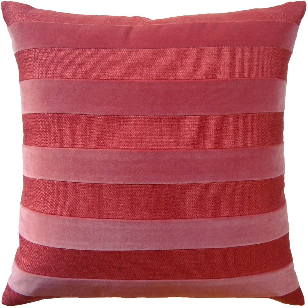 Parker Stripe Pillow, Spice, Pair